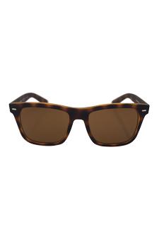 Dolce & Gabbana DG 6095 2899/83 - Top Yellow/Havana Rubber Polarized by Dolce & Gabbana for Men - 55-18-145 mm Sunglasses