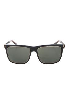 Tom Ford FT0392 01R Karlie - Black/Gold Polarized by Tom Ford for Men - 57-17-140 mm Sunglasses