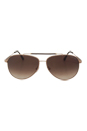 FT0378 28J Rick - Rose Gold/Blue by Tom Ford for Men - 62-13-140 mm Sunglasses