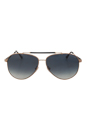 FT0378 28W Rick - Rose Gold/Silver by Tom Ford for Men - 62-13-140 mm Sunglasses