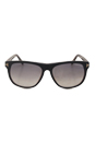 FT0236 05B Olivier - Shiny Black by Tom Ford for Men - 58-15-145 mm Sunglasses