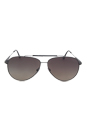 FT0378 10D Rick - Gunmetal Polarized by Tom Ford for Men - 62-13-140 mm Sunglasses
