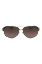 Prada SPS 58Q DG11X1 - Gunmetal Rubber by Prada for Men - 60-12-140 mm Sunglasses