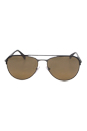 Prada SPR 51Q LAH2C2 - Matte Brown by Prada for Men - 59-16-140 mm Sunglasses