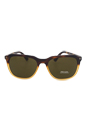 Prada SPR 02R TKZ2P1 - Light Havana by Prada for Men - 57-19-145 mm Sunglasses