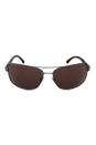 Emporio Armani AR 6011 3003/73 - Matte Gunmetal/Brown by Giorgio Armani for Men - 60-16-125 mm Sunglasses