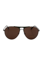 Versace VE 2164 1001/73 - Gunmetal/Matte Green by Versace for Men - 60-15-140 mm Sunglasses