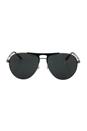 Versace VE 2164 1001/87 - Gunmetal/Matte Black by Versace for Men - 60-15-140 mm Sunglasses