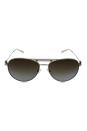 Michael Kors MK 5001 1001T5 Zanzibar - Silver/Brown Polarized by Michael Kors for Men - 58-14-135 mm Sunglasses