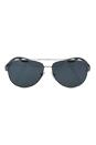 Prada SPS 55Q DG1-5Z1 - Gunmetal Rubber/Grey Polarized by Prada for Men - 62-14-140 mm Sunglasses