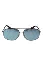 Prada SPS 56R QFP-5Q0 - Grey Rubber/Blue White by Prada for Men - 60-14-140 mm Sunglasses