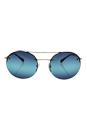 Prada SPS 54R ZVN-5T2 - Gold/Blue by Prada for Men - 56-18-135 mm Sunglasses