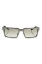 Prada SPR 50S UEF-4P2 - Brushed Silver/Grey by Prada for Men - 51-19-150 mm Sunglasses