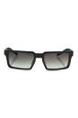 Prada SPR 50S UEJ-0A7 - Brushed Graphite/Grey by Prada for Men - 51-19-150 mm Sunglasses