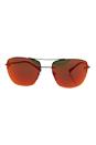Prada SPS 52R 5AV-5M0 - Gunmetal/Orange by Prada for Men - 56-16-135 mm Sunglasses
