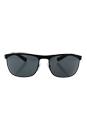 Prada SPS 54Q DG0-1A1 - Black/Grey by Prada for Men - 63-17-130 mm Sunglasses