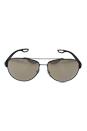 Prada SPS 55Q UFI-1C0 - Green Rubber/Light Brown Dark by Prada for Men - 62-14-140 mm Sunglasses