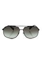 Prada SPS 56R DG0-0A7 - Black/Grey by Prada for Men - 60-14-140 mm Sunglasses