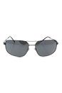 Versace VE 2158 1316/6G - Grey/Grey by Versace for Men - 63-17-135 mm Sunglasses
