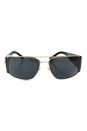 Versace VE 2163 - 1002/87 - Gold/Grey by Versace for Men - 63-15-135 mm Sunglasses