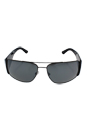 Versace VE 2163 - 1381/6G - Grey/Silver by Versace for Men - 63-15-135 mm Sunglasses