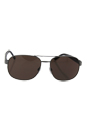 Burberry Be 3083 1008/5W - Brushed Gunmetal/Dark Brown by Burberry for Men - 59-16-140 mm Sunglasses