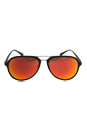Prada SPS 05R UFI-5M0 - Green Rubber/Brown Orange by Prada for Men - 58-17-135 mm Sunglasses
