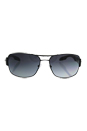 Prada SPS 53N 7AX-5W1 - Black/Grey Gradient Polarized by Prada for Men - 65-16-130 mm Sunglasses