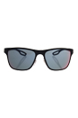 Prada SPS 56Q TFY-9Q1 - Blue Rubber/Dark Grey Blue-Red by Prada for Men - 56-18-140 mm Sunglasses