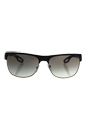 Prada SPS 57Q DG0-0A7 - Black Rubber/Grey Gradient by Prada for Men - 58-16-140 mm Sunglasses