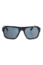 Prada SPR 02S UEL-1A1 - Spotted Brown Grey/Grey by Prada for Men - 55-21-140 mm Sunglasses