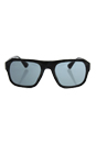 Prada SPR 02S UEM-3C2 - Spotted Brown Green/Grey by Prada for Men - 55-21-140 mm Sunglasses