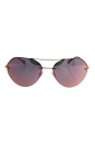 Prada SPS 57R ZVN-5L2 - Gold/Grey Rose by Prada for Men - 59-16-135 mm Sunglasses