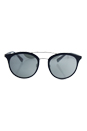 Prada SPS 04R TFY-7W1 - Blue Rubber/Grey Silver by Prada for Men - 54-21-135 mm Sunglasses