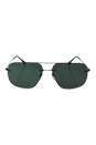 Prada SPS 55P 7AX-3O1 - Black/Grey Green by Prada for Men - 63-14-140 mm Sunglasses