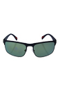 Prada SPS 56P TFY-3C0 - Blue Rubber/Light Green Petrol by Prada for Men - 60-18-135 mm Sunglasses