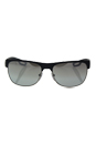 Prada SPS 57Q TFZ-1A0 - Grey Rubber/Grey Silver by Prada for Men - 58-16-140 mm Sunglasses