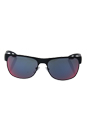 Prada SPS 57Q TFZ-9Q1 - Grey Rubber/Dark Grey Blue Red by Prada for Men - 58-16-140 mm Sunglasses