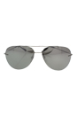 Prada SPS 50P 1BC-2B0 - Steel/Grey Silver by Prada for Men - 60-13-140 mm Sunglasses