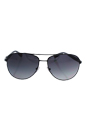 Prada SPS 51O 7AX-5W1 - Black/Grey Gradient Polarized by Prada for Men - 62-14-135 mm Sunglasses
