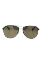 Prada SPS 51O 5AV-1C0 - Gunmetal/Gold by Prada for Men - 62-14-135 mm Sunglasses