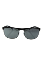 Prada SPS 54Q DG0-7W1 - Black Gunmetal/Grey by Prada for Men - 63-17-130 mm Sunglasses