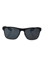 Prada SPS 56Q DG0-1A1 - Black Rubber/Grey by Prada for Men - 56-18-140 mm Sunglasses