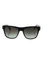 Prada SPR 03R 1AB-0A7 - Black/Grey Gradient by Prada for Men - 55-18-145 mm Sunglasses