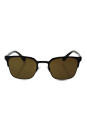 Prada SPR 61S U6C-5Y1 - Grey/Gunmental Brown Polarized by Prada for Men - 52-21-140 mm Sunglasses