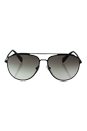 Prada SPS 55R DG0-0A7 - Black Rubber/Grey Gradient by Prada for Men - 59-14-140 mm Sunglasses