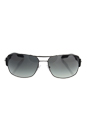 Prada SPS 53N 5AV-3M1 - Gunmetal/Gray Gradient by Prada for Men - 65-16-130 mm Sunglasses