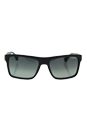 Prada SPR 01S TV4-2D0 - Brushed Matte Grey/Grey Shaded by Prada for Men - 57-18-145 mm Sunglasses