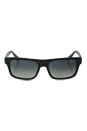 Prada SPR 18P TFZ-2D0 - Matte Grey/Grey Gradient by Prada for Men - 56-18-140 mm Sunglasses
