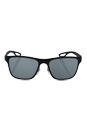 Prada SPS 56Q TIG-3C2 - Grey Rubber/Dark Grey by Prada for Men - 56-18-140 mm Sunglasses